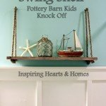 Make A Pottery Barn Inspired Swing Shelf