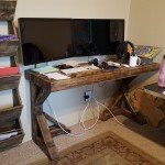Shipwreck Pallet Wood Desk