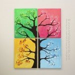 DIY Four Seasons Wall Art