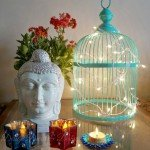 How to Style a Thrifted Bird Cage