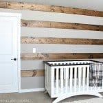 Make a Wood Striped Wall In A Few easy Steps!