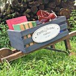 Make Your Own Rustic Wheelbarrow
