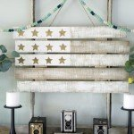 American Flag Art from a Recycled Pallet