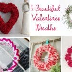 5 Adorable Valentines Wreaths