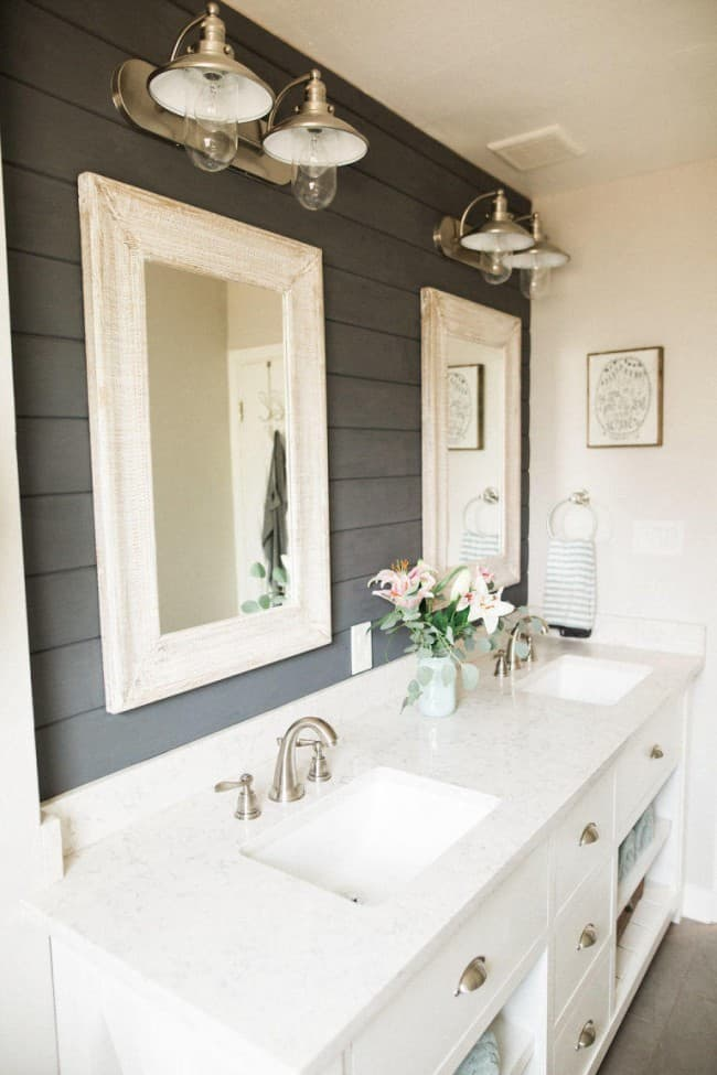 Country bathroom decor pinterest - How To Use Shiplap In Every Room Of Your Home