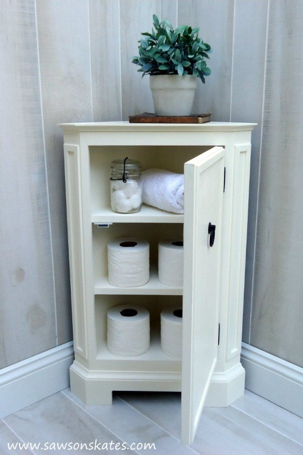 Small Corner Cabinet Diy Knockoffdecor Com