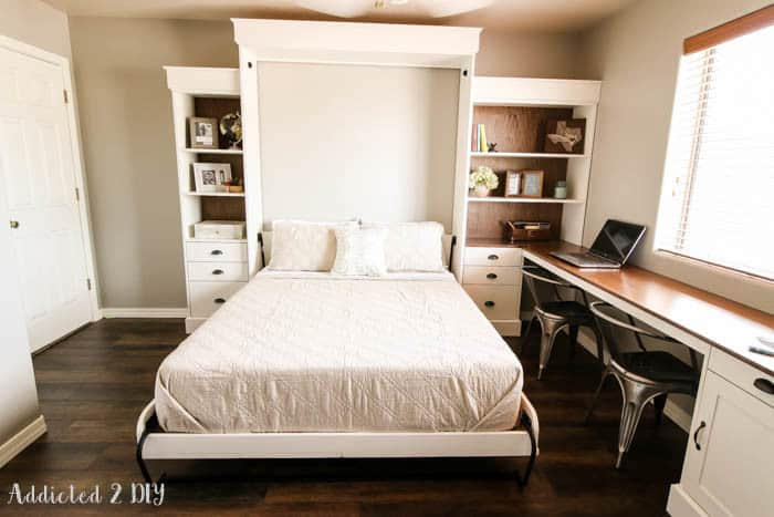 8 Awesome Diy Murphy Beds Knockoffdecor Com