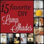 Our 15 Favorite DIY Lamp Shades