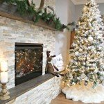 DIY Basement Fireplace
