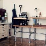 Galvanized Steel Piping DIY Work Table