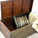 Wooden Trunk Makeover