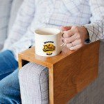 Make a Wooden Sofa Sleeve Complete With Cup Holder