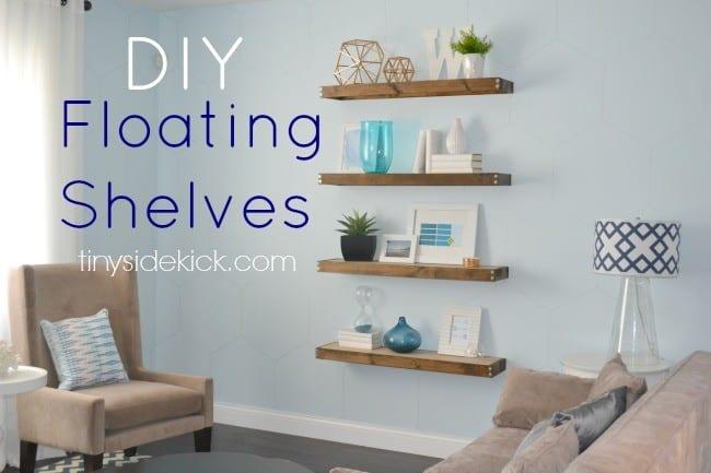 10 Beautiful Floating Shelves Knockoffdecor Com