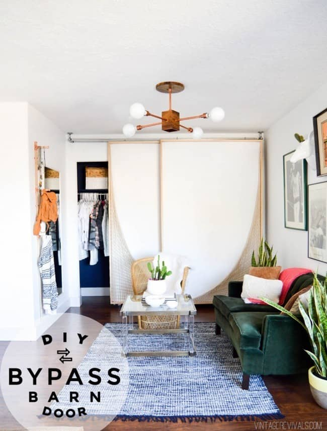 Make Your Own Bypass Barn Door Knockoffdecor Com