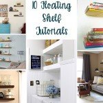 10 Beautiful Floating Shelves