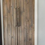 DIY Barn Door Look For Your Pantry