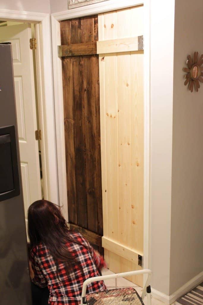 Diy Barn Door Look For Your Pantry