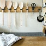 DIY Hanging Utensil Holder