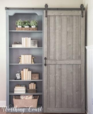 Rustic Farmhouse Bookshelf Knockoffdecor Com