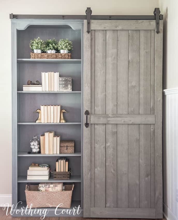 Rustic Farmhouse Bookshelf Knockoffdecor Com