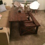 Coffee Table with Moveable Top