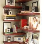 DIY Fun Corner Shelves
