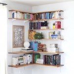 DIY Corner Shelving Unit