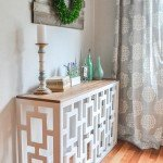 Beautiful Decorative Console Table