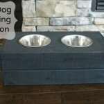 DIY Dog Feeding Station