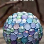 DIY Garden Art Ball