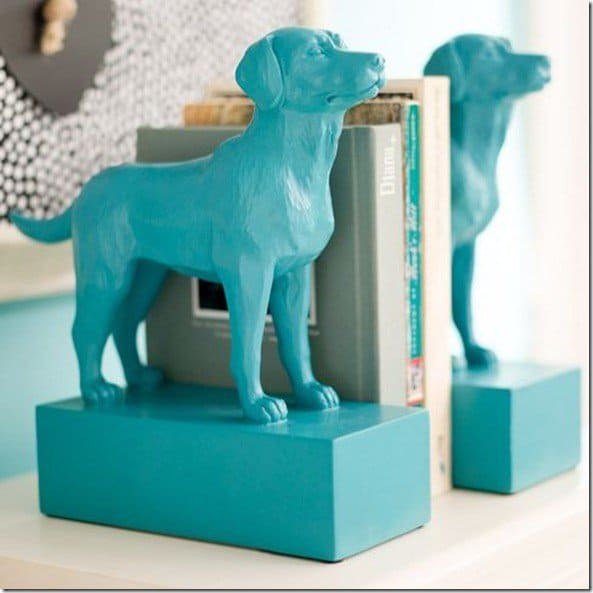 dog-bookend