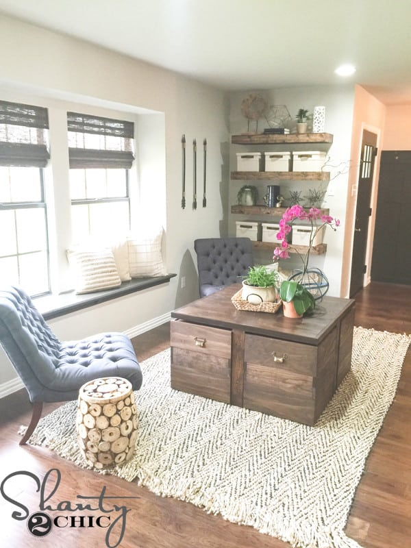 Multi use storage coffee table for Diy coffee table with storage