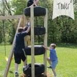 Kid's Outdoor Climbing Tower
