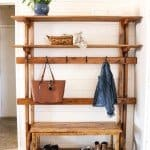 Beautiful Hallway Storage