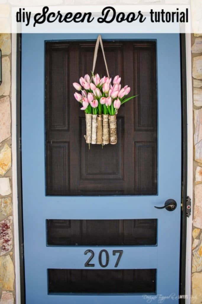 8 Simple Diy Screen Doors