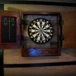 Dartboard Wall Storage