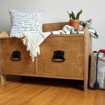 Plywood Storage Bench