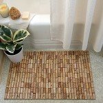 Recycled Wine Cork Rug