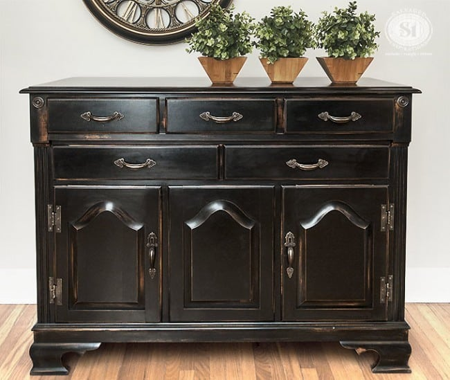 Buffet DIY PB Black Finish