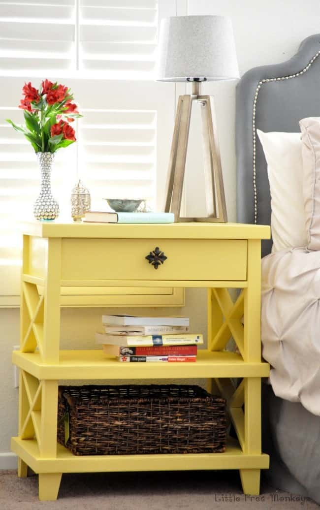 DIY Clara Lattice side table