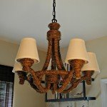 Gorgeous Chandelier Makeover