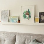 DIY Easy Picture Ledge