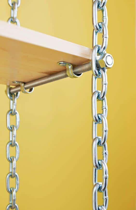 chain shelve