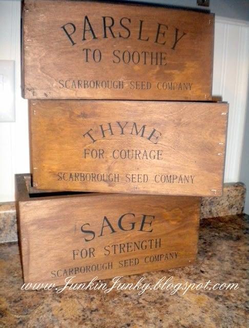 boxes baskets bins