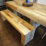 West Elm Inspired Modern Rustic Dining Table