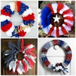 Decorate For July 4th With A Handmade Wreath