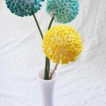 A Touch of Whimsy Q-Tip Flower Craft
