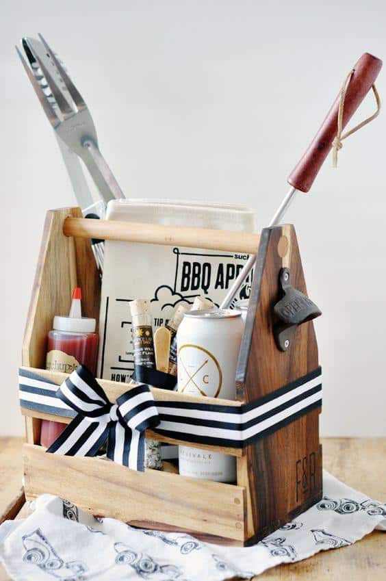 6 Last Minute Mostly Dollar Store Gift Baskets For
