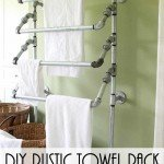 Well Constructed Rustic Towel Rack