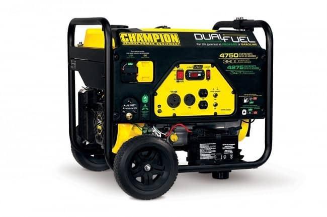 Propane & Gas Generator
